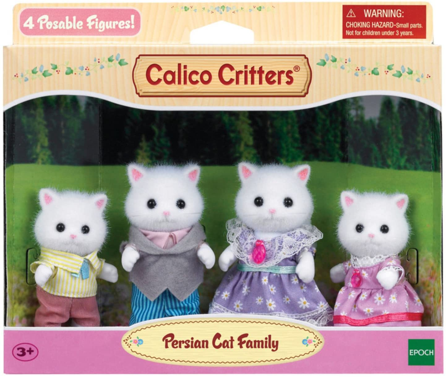 Calico Critters White Persian Cat Family - A2Z Science ...