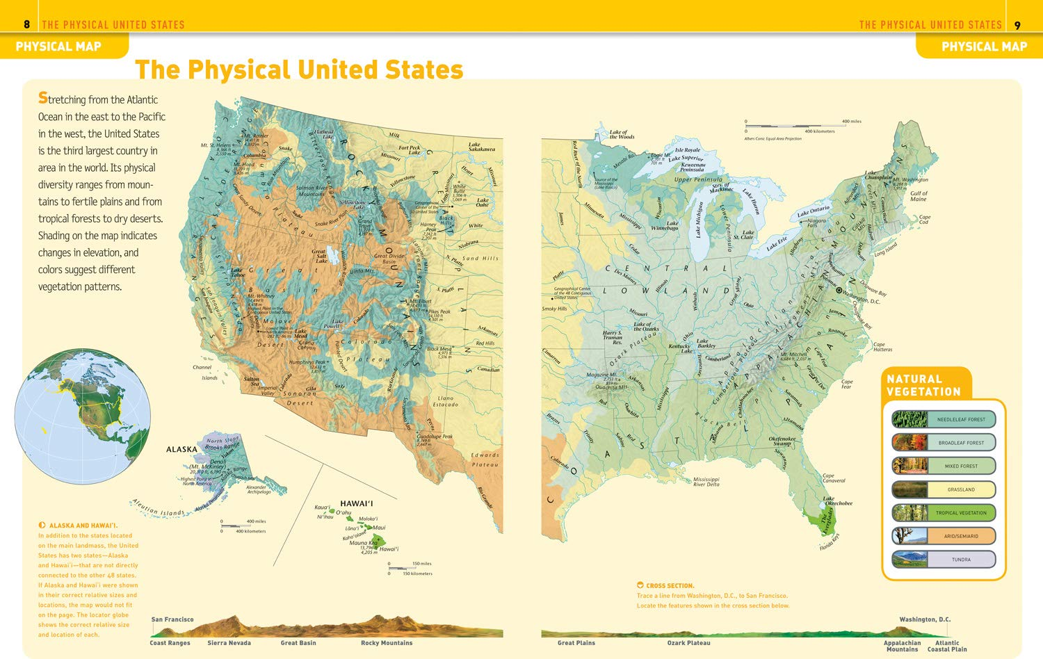 Image of: National Geographic Kids United States Atlas A2z Science Learning Toy Store