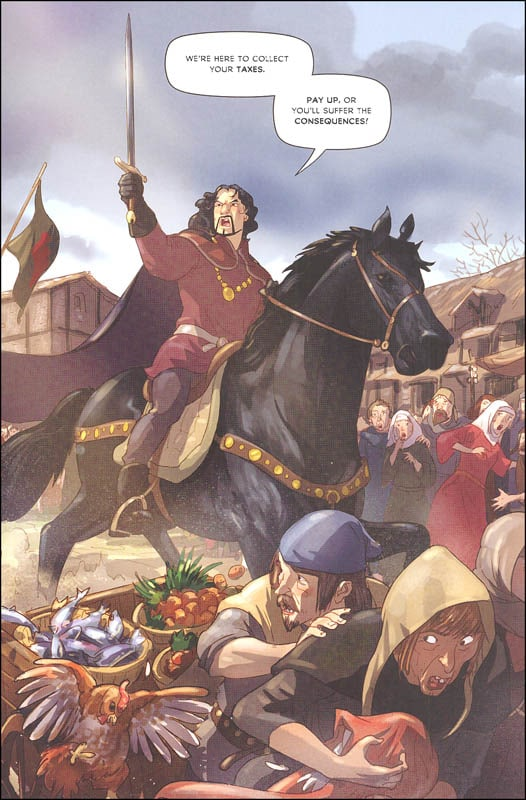 the adventures of robin hood a graphic novel  a2z